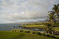 Mauna Kea Golf Course on the coast of the Big Island of Hawaii