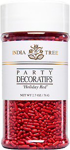 10612 Holiday Red, Small Jar 2.7 oz, India Tree Storefront