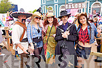 Dress up time Western Style in Cahersiveen at the weekend for the Wild West Festival pictured here l-r; Pedro(The Mexican), Amy O'Dea, Teresa Corbett, The 'Kid' and Niamh Carroll.