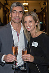 Michael and Sarah Farag at the Greenbank 21 Year Reunion - Current and Past Parents, The Northern Club, Auckland, New Zealand,  Friday, August 04, 2017.Photo: David Rowland / One-Image.com for BW Media