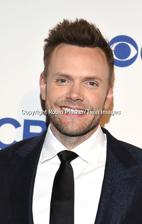 Joel McHale attends the CBS Upfront 2016-2017 on May 18, 2016 at the Oak Room at the Plaza Hotel in New Yorik, New York, USA.<br /> <br /> photo by Robin Platzer/Twin Images<br />  <br /> phone number 212-935-0770