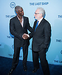 WASHINGTON, DC - JUNE 4: Actor Charles Parnell and journalist Wolf Blitzer attends The Last Ship premiere screening, a partnership between TNT and the U.S. Navy on June 4, 2014 in Washington, D.C. Photo Credit: Morris Melvin / Retna Ltd.