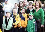 Sinead, Toby and Sean Maguire, Hannah and Sorcha Horan and their granny Pauline at the 2010 St Patrick's Day Parade...Photo NEWSFILE/Jenny Matthews.(Photo credit should read Jenny Matthews/NEWSFILE)....This Picture has been sent you under the condtions enclosed by:.Newsfile Ltd..The Studio,.Millmount Abbey,.Drogheda,.Co Meath..Ireland..Tel: +353(0)41-9871240.Fax: +353(0)41-9871260.GSM: +353(0)86-2500958.email: pictures@newsfile.ie.www.newsfile.ie.FTP: 193.120.102.198.