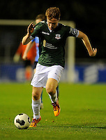 27th October 2014; SSE Airtricity League Promotion Playoff, Leg 1, UCD v Galway FC, UCD Bowl, Belfield, Dublin. Galway FC&rsquo;s Gary Shanahan.<br /> Picture credit: Tommy Grealy/actionshots.ie.