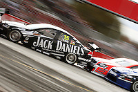 Rick Kelly is pushed through Holden Hairpin during Race Two during Day Three of the Hamilton 400 Aussie V8 Supercars Round Two at Frankton, Hamilton, New Zealand on Sunday, 19 April 2009. Photo: Dave Lintott / lintottphoto.co.nz