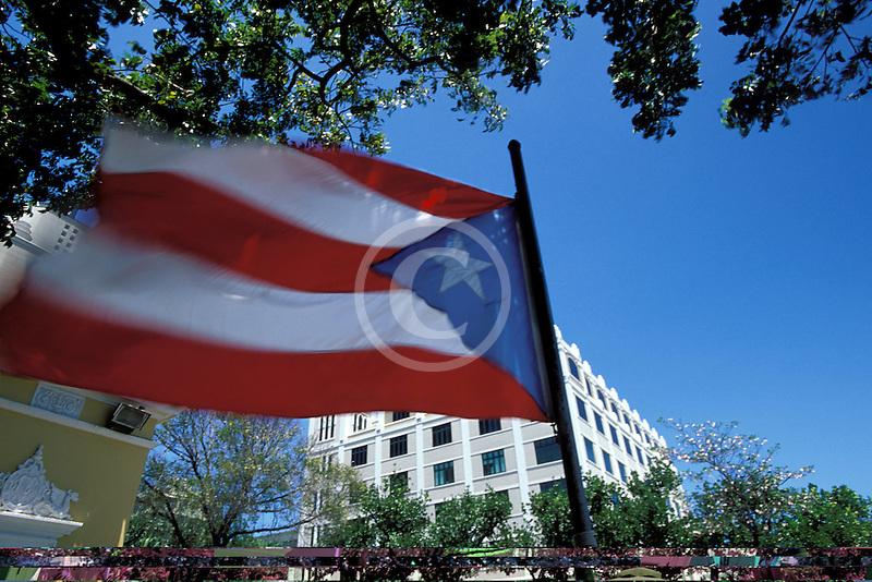 Puerto Rico, San Juan, Puerto Rican flag
