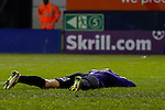 Picture by David Horn/eXtreme Aperture Photography +44 7545 970036<br /> 26/11/2013<br /> Danny Hurst of Southport looks dejected as Luton Town double their lead to make it 2-0  during the Skrill Premier match at Kenilworth Road, Luton.