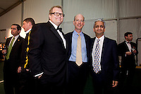 Drew Carey, Brian Klein, Sunil Gulati. The 2010 US Soccer Foundation Gala was held at City Center in Washington, DC.
