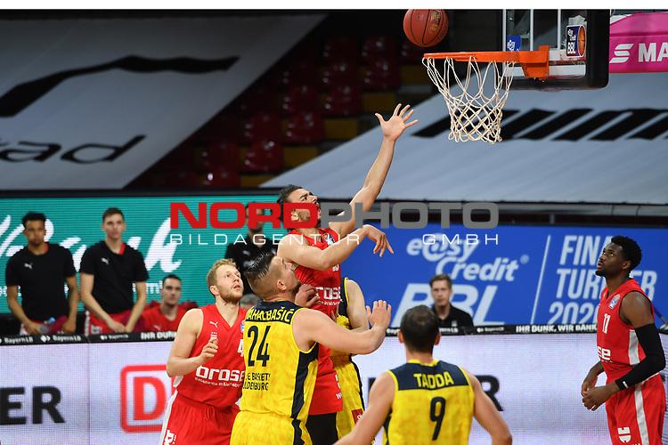 KorbKorbwurd Assem MAREI (BA),<br /> <br /> Basketball 1.Bundesliga,BBL, nph0001-Finalturnier 2020.<br /> Viertelfinale am 18.06.2020.<br /> BROSE BAMBERG-EWE BASKETS OLDENBURG,<br /> Audi Dome<br /> <br /> Foto:Frank Hoermann / SVEN SIMON / /Pool/nordphoto<br /> <br /> National and international News-Agencies OUT - Editorial Use ONLY