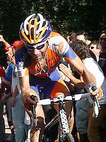 Dennis Van Winden during the stage of La Vuelta 2012 between Palas de Rei and Puerto de Ancares.September 1,2012. (ALTERPHOTOS/Paola Otero) NortePhoto.com<br /> <br /> **CREDITO*OBLIGATORIO** <br /> *No*Venta*A*Terceros*<br /> *No*Sale*So*third*<br /> *** No*Se*Permite*Hacer*Archivo**<br /> *No*Sale*So*third*