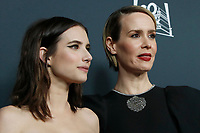 """LOS ANGELES - OCT 26:  Emma Roberts, Sarah Paulsen at the """"American Horror Story"""" 100th Episode Celebration at the Hollywood Forever Cemetary on October 26, 2019 in Los Angeles, CA"""