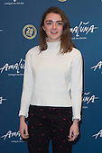 London, UK. 19 January 2016. Actress Maisie Williams. Celebrities arrive on the red carpet for the London premiere of Amaluna, the latest show of Cirque du Soleil, at the Royal Albert Hall.