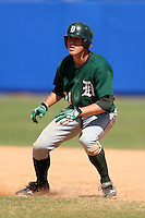 March 23, 2010:  Jake Carlson of the Dartmouth Big Green during a game at the Chain of Lakes Stadium in Winter Haven, FL.  Photo By Mike Janes/Four Seam Images