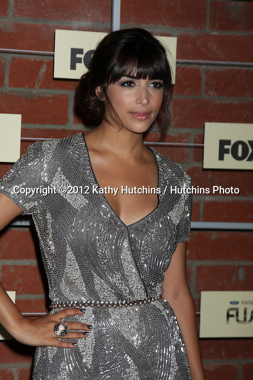 LOS ANGELES - SEP 10:  Hannah Simone arrives at the FOX Eco-Casino Party 2012 at Bookbindery on September 10, 2012 in Culver City, CA