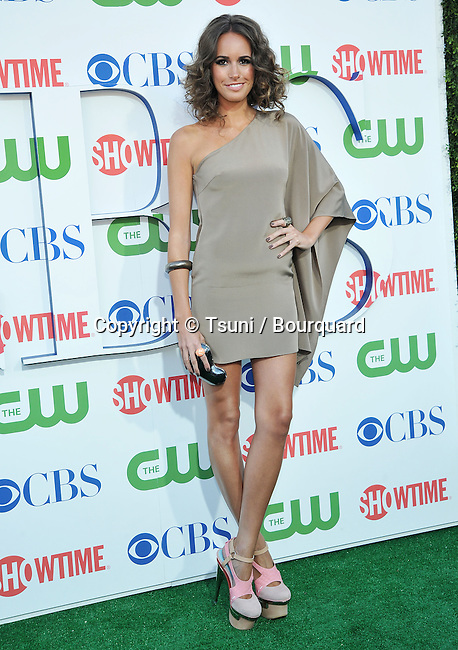 Louise Roe<br /> CBS-CW-Showtime_ tca party at the Beverly Hiton Hotel in Los Angeles.