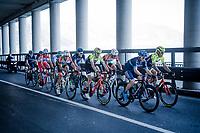 the breakaway group <br /> <br /> 110th Milano-Sanremo 2019 (ITA)<br /> One day race from Milano to Sanremo (291km)<br /> <br /> ©kramon
