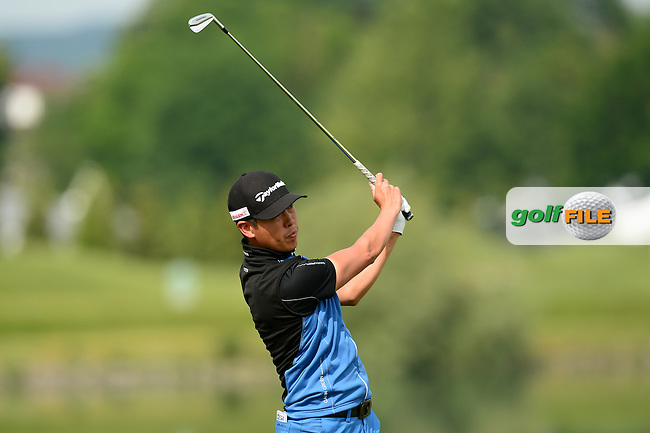 Daniel Im of USA during Round 3 of the Lyoness Open, Diamond Country Club, Atzenbrugg, Austria. 11/06/2016<br /> Picture: Richard Martin-Roberts / Golffile<br /> <br /> All photos usage must carry mandatory copyright credit (&copy; Golffile | Richard Martin- Roberts)