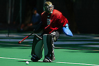 30 August 2005: Madison Bell during Stanford's 5-1 loss to Delaware at the Varsity Turf Field in Stanford, CA.