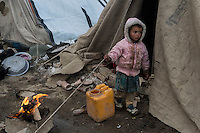 An unnamed refugee camp near the new Afghan Parliament, Kabul 12-1-14