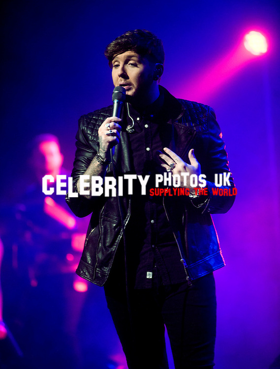 James Arthur live  at the New Theatre in Oxford on the 19th january 2014