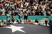 MIAMI, FL, 14.10.2018 – MIAMI DOLPHINS-CHICAGO BEARS – Movimentação da torcida, durante partida válida pela semana 6 da temporada regular da NFL, no Hard Rock Stadium, na tarde deste sábado (14). (Foto: Jayson Braga / Brazil Photo Press)