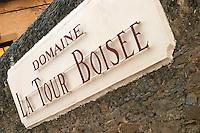 Domaine La Tour Boisee. In Laure-Minervois. Minervois. Languedoc. France. Europe.