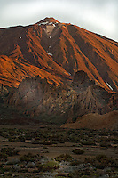 Early morning, Mount Teide, Parque nacional de las Cañadas,Tenerife, Canary Islands, Spain