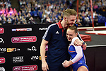 2017 WORLD CUP OF GYMNASTICS. The O2 Arena.Saturday, April 8, 2017. Women's Competition