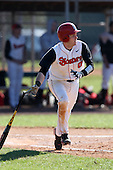 February 28, 2010:  Second Baseman Matt Wessinger (0) of St. John's Red Storm during the Big East/Big 10 Challenge at Raymond Naimoli Complex in St. Petersburg, FL.  Photo By Mike Janes/Four Seam Images
