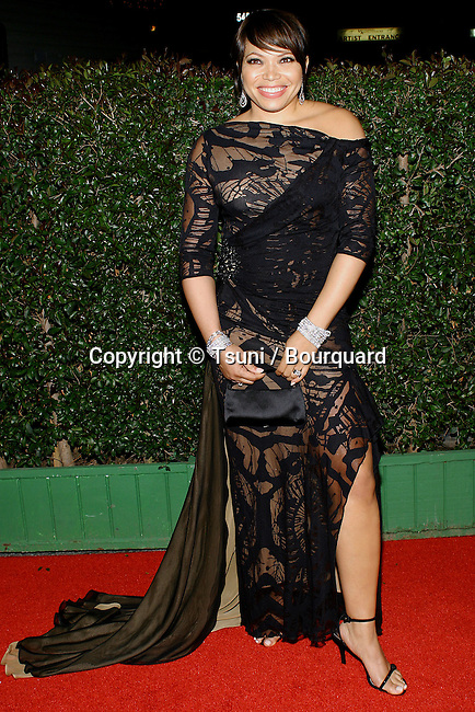 Tisha Campbell arriving at the NAACP Image Awards 2004 at the Universal Amphitheatre in Los Angeles. March 7, 2004.