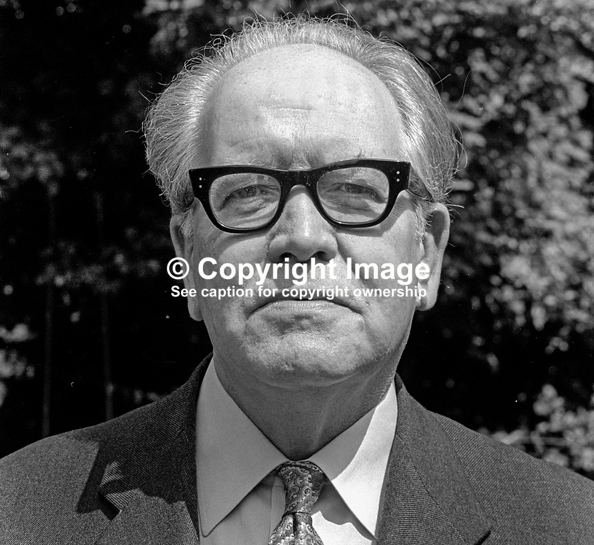 Terry O'Keefe, editor, Irish News, 4th July 1975, 197507040525<br />