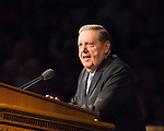 1608-44 136<br /> <br /> Education Week<br /> Elder Holland Devotional<br /> <br /> August 16, 2016<br /> <br /> Photography by: Mark A. Philbrick/BYU Photo<br /> <br /> Copyright BYU Photo 2016<br /> All Rights Reserved<br /> photo@byu.edu (801)422-7322<br /> <br /> 503