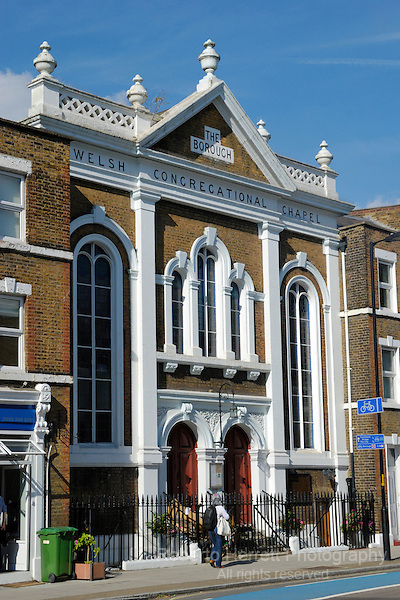 The Borough Welsh Congregational Chapel, Southwark, London, England