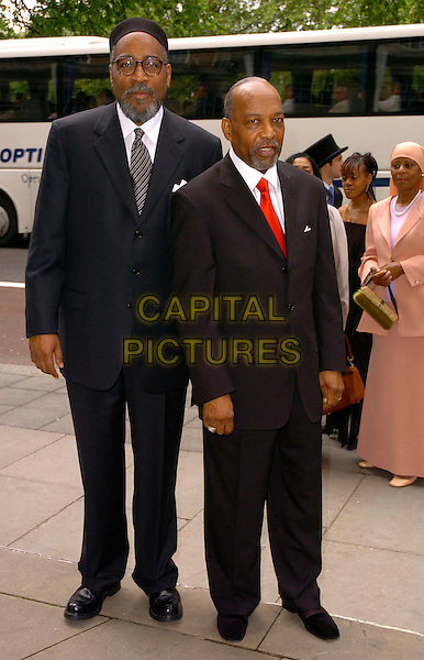 KENNY GAMBLE & LEON HUFF.The Ivor Novello Awards at Grosvenor House, Park Lane, London, UK..May 25th, 2006.Ref: CAN.full length black suit.www.capitalpictures.com.sales@capitalpictures.com.©Capital Pictures