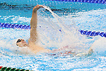 Rio de Janeiro-8/9/2016-Gordie Michie competes in the men's 100m backstroke during the swimming finals at the 2016 Paralympic Games in Rio. Photo Scott Grant/Canadian Paralympic Committee