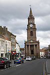 The Town Hall built 1754–60, Berwick-upon-Tweed, Northumberland, England, UK
