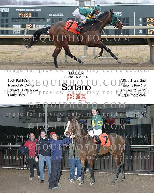 Winning photos at Parx Racing.