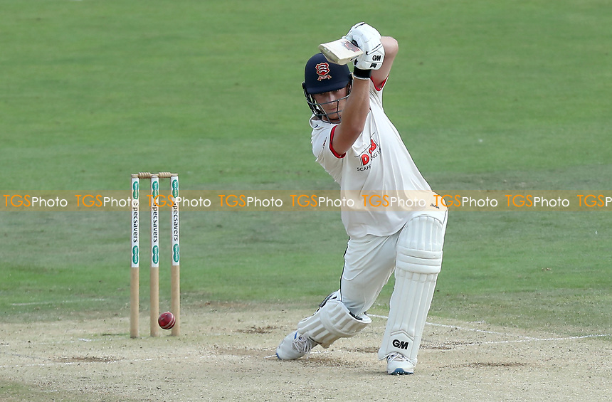 Tom Westley of Essex drives the ball during Kent CCC vs Essex CCC, Specsavers County Championship Division 1 Cricket at the St Lawrence Ground on 20th August 2019