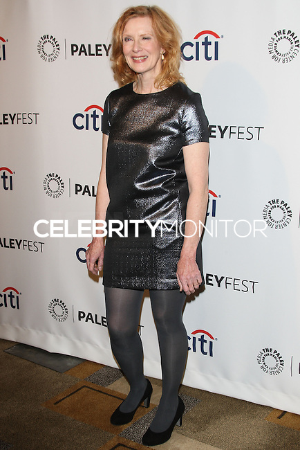 """HOLLYWOOD, LOS ANGELES, CA, USA - MARCH 28: Frances Conroy at the 2014 PaleyFest - """"American Horror Story"""" held at the Dolby Theatre on March 28, 2014 in Hollywood, Los Angeles, California, United States. (Photo by Celebrity Monitor)"""