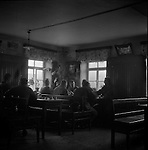 GIs in a German cafe, April 1945