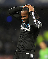 FUSSBALL   CHAMPIONS LEAGUE   SAISON 2011/2012   21.02.2012 SSC Neapel - Chelsea  FC David Luiz (Chelsea  FC)