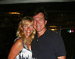 Frank Dicopoulos & wife Teja - Day 5 -  August 4, 2010 on the Lido Deck - So Long Springfield at Sea - A Final Farewell Cocktail Party for Guiding Light sets sail from NYC to St. John, New Brunwsick and Halifax, Nova Scotia from July 31 to August 5, 2010  aboard Carnival's Glory (Photos by Sue Coflin/Max Photos)