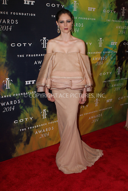 ACEPIXS.COM<br /> <br /> June 16 2014, New York City<br /> <br /> Coco Rocha arriving at the 2014 Fragrance Foundation Awards on June 16, 2014 in New York City<br /> <br /> <br /> By Line: Nancy Rivera/ACE Pictures<br /> <br /> ACE Pictures, Inc.<br /> www.acepixs.com<br /> Email: info@acepixs.com<br /> Tel: 646 769 0430