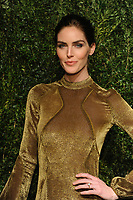 NEW YORK, NY - NOVEMBER 6: Hilary Rhoda at the 14th Annual CFDA Vogue Fashion Fund Gala at Weylin in Brooklyn, New York City on November 6, 2017. Credit: John Palmer/MediaPunch /NortePhoto.com