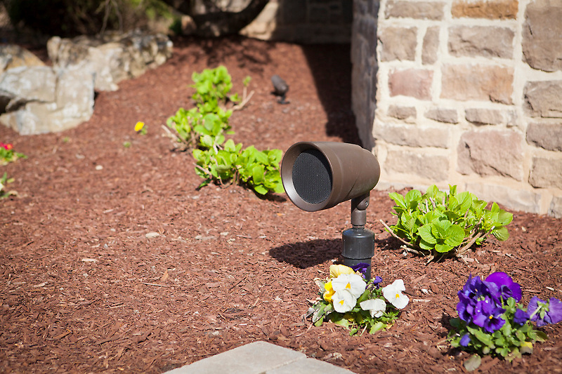 Stealth Outdoor Satellite Speakers Keep the Music Turned Up