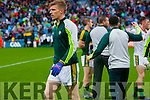 Tommy Walsh, Kerry players after defeating Tyrone in the All Ireland Semi Final at Croke Park on Sunday.