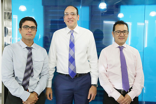 Fernando Ramos, Juan Luis Fernández, Carlos Emilio Aguilar.