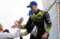 #14 AIM Vasser Sullivan Lexus RC F GT3, GTD: Richard Heistand, Jack Hawksworth, Celebrates