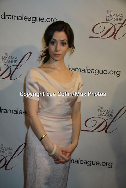 - 78th Drama League Awards on May 18, 2012 at the New York Marriott Marquis Hotel, New York City New York. (Photo by Sue Coflin/Max Photos) Cristin Miloti