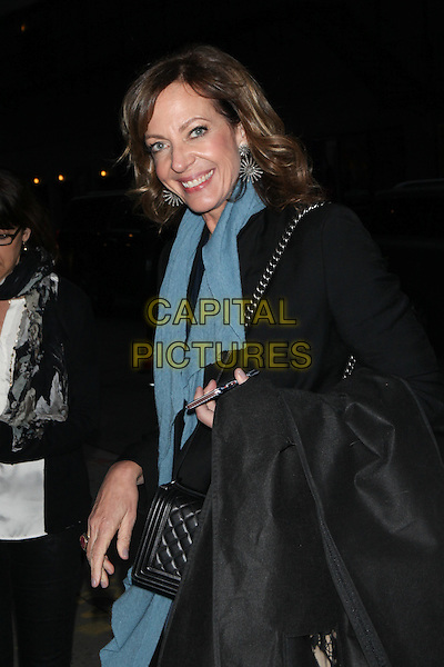 NEW YORK, NY - NOVEMBER 2:  Allison Janney visits The Late Show    on November 2, 2015 in New York City.  <br /> CAP/MPI/COR<br /> &copy;COR/MPI/Capital Pictures